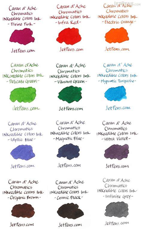 caran dache hypnotic turquoise ink chromatics  ml