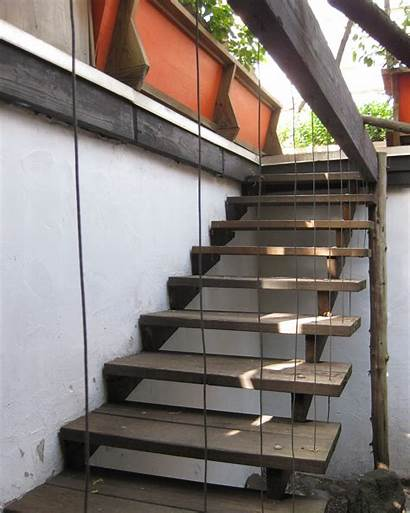 Stairs Exterior Stair Outside Outdoor Deck Designs