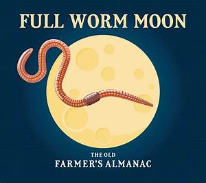 Full Moon In March 2020  The Super Worm Moon