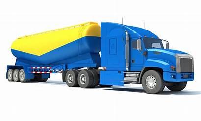 Trailer Truck Tanker 3dhorse