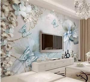 Tapete Living : model tapet living cu fluturi ~ Yasmunasinghe.com Haus und Dekorationen