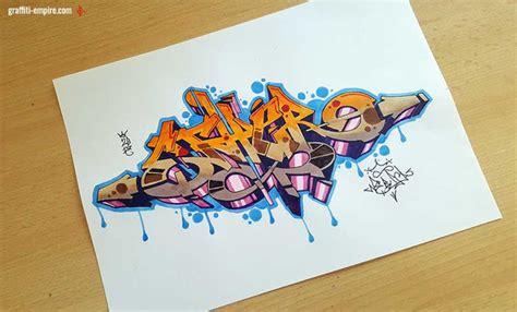Graffiti Zeichnen : Wie Lerne Ich Graffiti Zu Malen? (auf Papier) (zeichnen