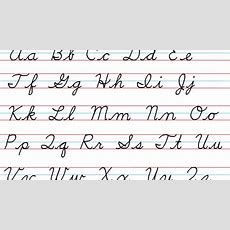 Cursive Handwriting Step By Step Youtube