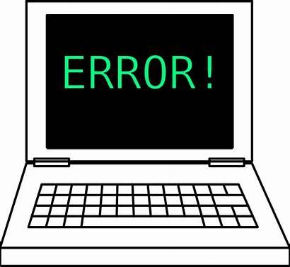Laptop Error Clipart Notebook Computer Clip Programming
