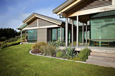 Elegant Contemporary Home In Te Horo, New Zealand