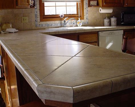 1000 ideas about tile kitchen countertops on