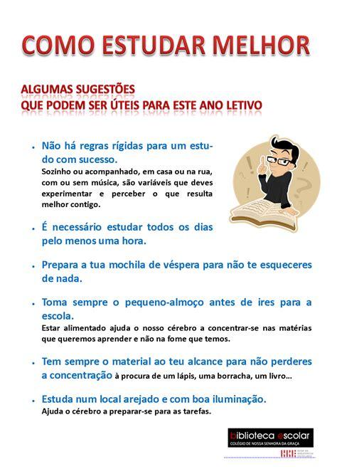 Be Blogue Algumas Dicas Para Estudar