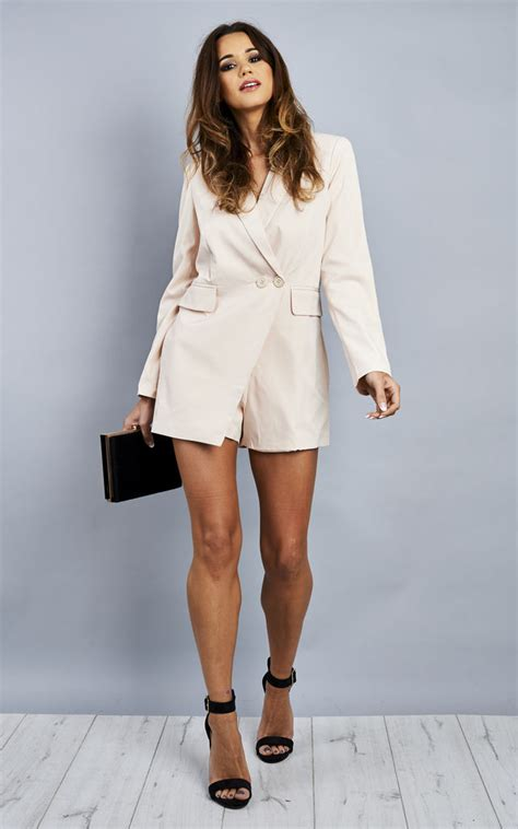 jumpsuit with blazer blazer jumpsuit silkfred