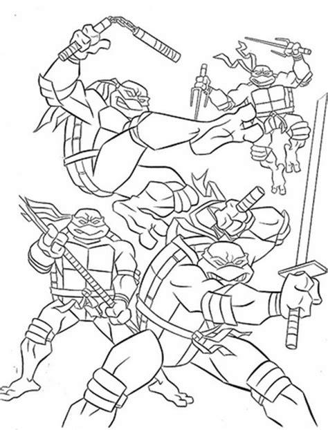 printable teenage mutant ninja turtles coloring