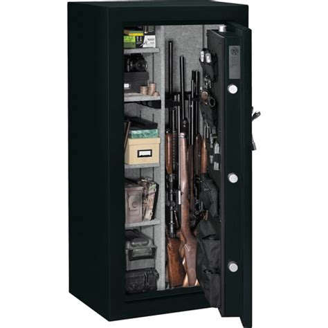 Stack On In Wall Gun Cabinet - stack on iwc 55 length in wall gun storage cabinet