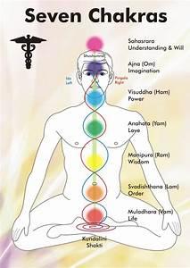 Diagram Of Chakras