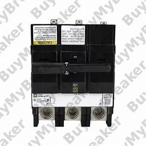 Square D Qob3150vh 3 Pole 150 Amp 240v Circuit Breaker