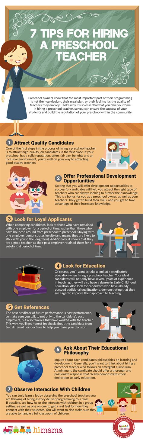 himama 7 tips for hiring a preschool 619 | 7 tips for hiring a preschool teacher