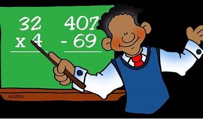 Math Clipart Animated Teacher Clip Cliparts Teachers