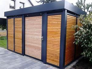 Eingangsüberdachung L Form : 154 besten carport einhausungen eingangs berdachung m lltonnenbox garage ger tehaus bilder ~ Indierocktalk.com Haus und Dekorationen