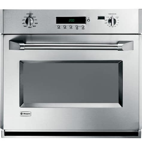 zetpmss ge monogram  professional electronic convection single wall oven monogram