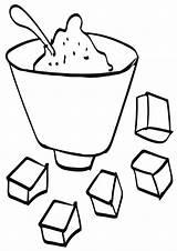 Sugar Coloring sketch template