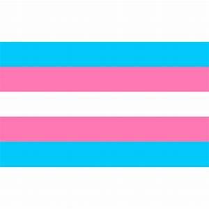 5′ Transgender Flag – TheGayShop