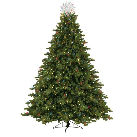 general electric  pre lit  cut norway spruce tree