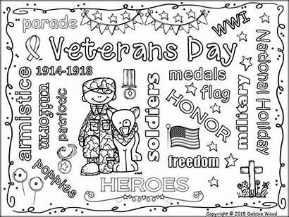 Veterans Fun Vocabulary Word Freebie Elementary Activities
