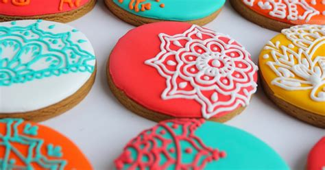 cool christmas cookies sugar bea s blog henna inspired christmas cookies for some very cool clients