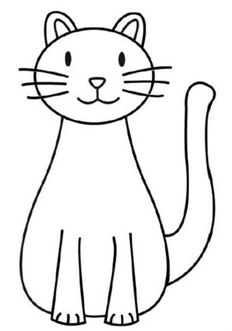 image result  easy drawings  cats drawings simple