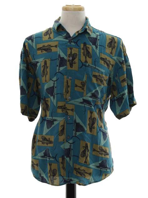 vintage  shirt  cambridge classics mens teal
