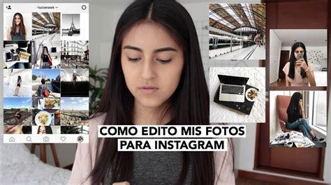 como edito mis fotos de instagram estilo tumblr