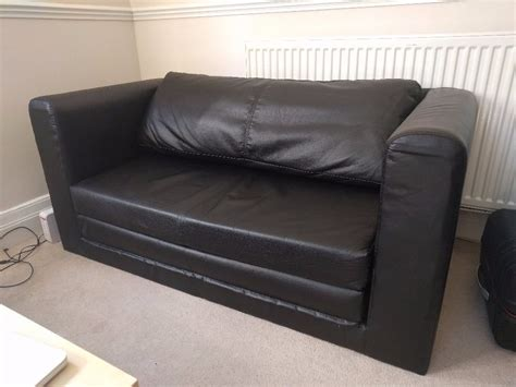 31126 sofas furniture excellent two seat sofa bed ikea askeby black excellent condition