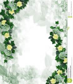 flower petals floral border design invitation element stock images