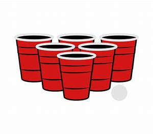 Beer Pong Cups Vector | www.imgkid.com - The Image Kid Has It!