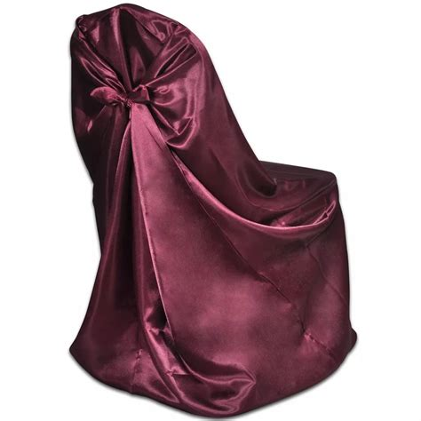Burgundy Cover by 6 Pcs Burgundy Chair Cover For Wedding Banquet Vidaxl