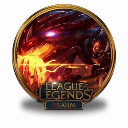 Braum Icon Dragonslayer Legends League Icons Gold