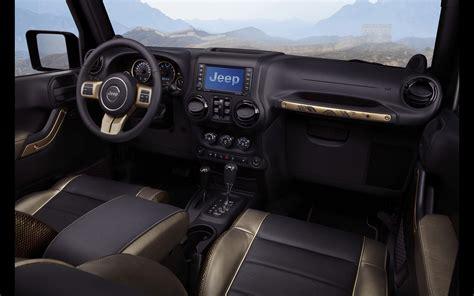 2012 Jeep Wrangler Dragon Edition 4x4 Concept Interior F