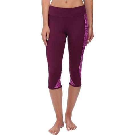 Hurley Dri-Fit Crop Leggings Women's Workout, Purple ...