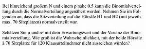 Binomialkoeffizienten Berechnen : statistik wahrscheinlichkeit sitzplatzverteilung ~ Themetempest.com Abrechnung