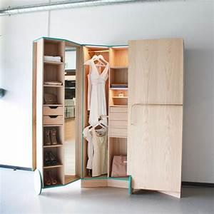 Begehbarer Kleiderschrank Design : begehbarer kleiderschrank f r kleines zimmer ideen tipps ~ Frokenaadalensverden.com Haus und Dekorationen