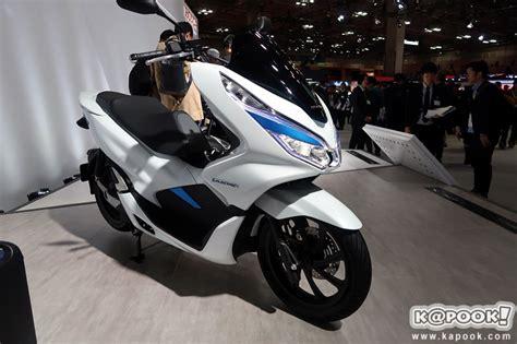 Honda Pcx 2018 Electric by Honda Pcx 2018 ใหม จะม ท งแบบ Hybrid และ Electric เตร ยม