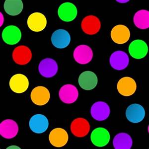 Colorful Dots On Black Background Image, Wallpaper or ...