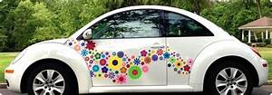 Hippy Motors USA Hippie Stickers for Car and Home
