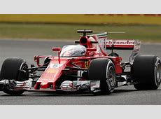 Vettel tests 'shield' frontal protection system at Silverstone