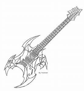Electric Guitar design by Tionniel on DeviantArt