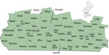 Map Of Southern New Hampshire Cities And Towns My Blog - Southern nh map