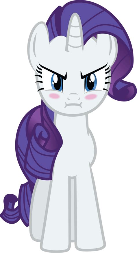 Rarity Angry By Geonine On Deviantart