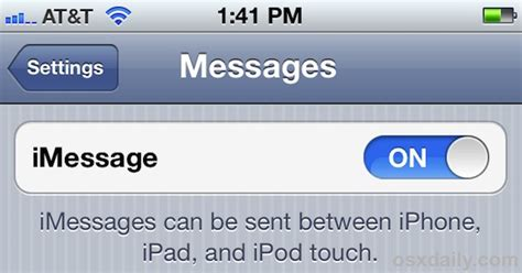 how to enable messaging on iphone 5 how to set up use imessage on iphone ipod touch
