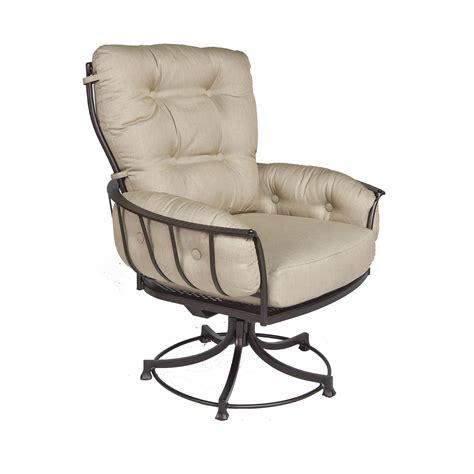swivel rocker patio chair parts punched tin backsplash
