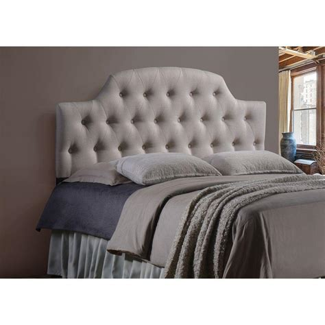 26474 beige tufted bed baxton studio fabric upholstered button tufted