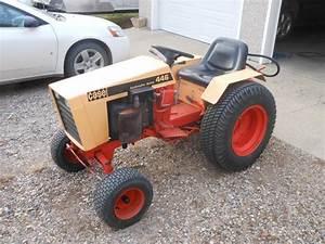 Case 446 Garden Tractor Specs