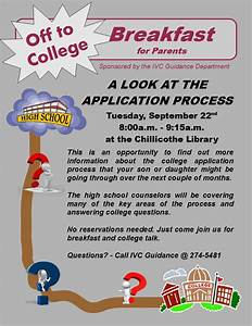 IVC Guidance Resources: Parent College Breakfast