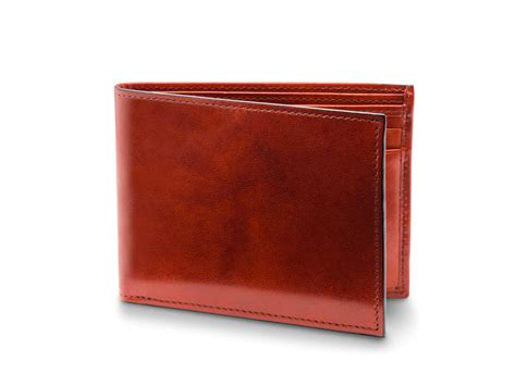 executive id wallet mens leather bifold wallet bosca
